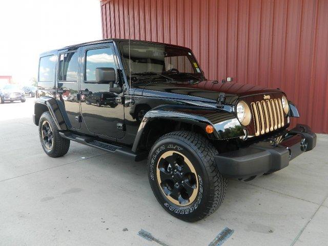 2014 Jeep Wrangler Unlimited Sahara Dragon
